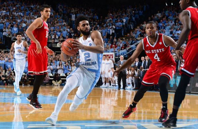 Joel Berry against NC State.