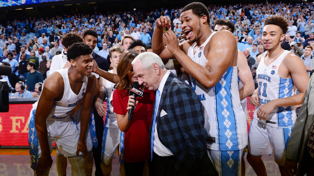 Roy Williams' 800th win.